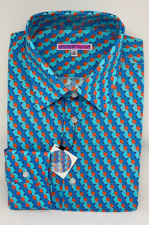 Coton Doux Mens Straight 'Blue n Orange'