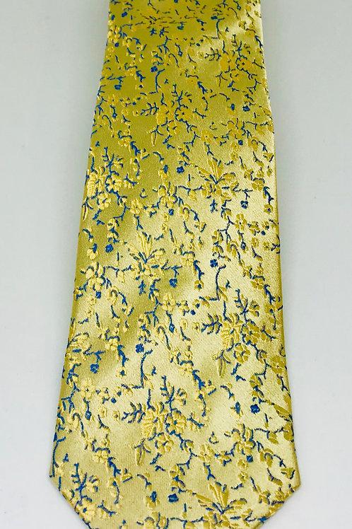 Coton Doux Tie Straight 'Golden Flowers'