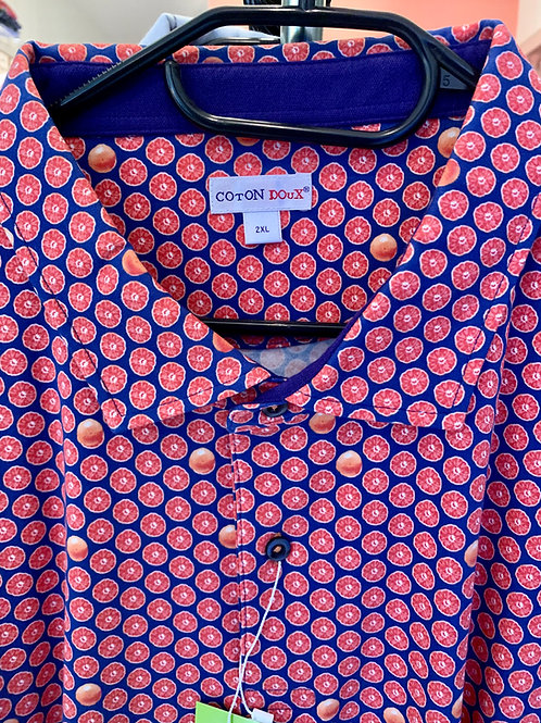 Coton Doux Mens Polo 'Oranges'