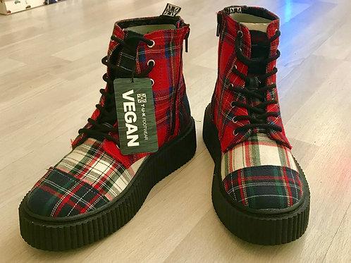 Tuk Casbah Boots Multi Tartan