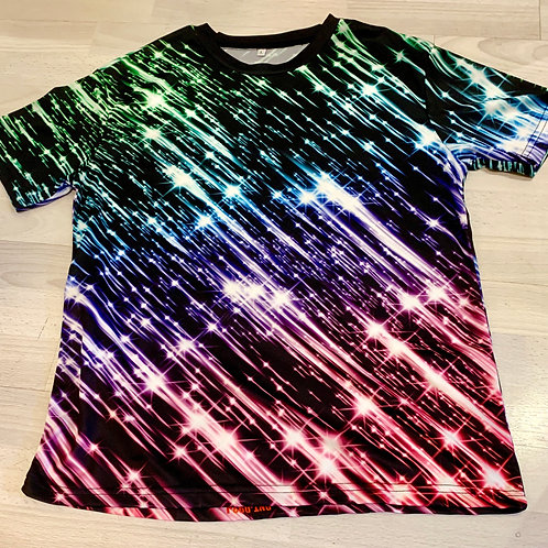 3D T-Shirt 'Meteor Shower'