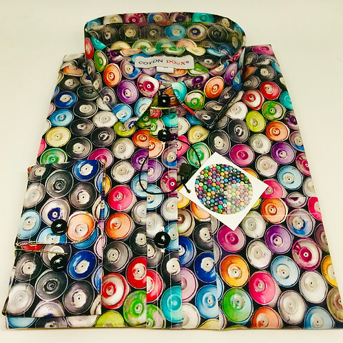 Coton Doux Kids Shirt 'Spray Paint'
