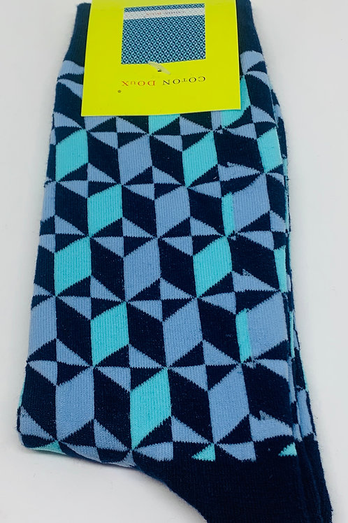 Coton Doux Socks 'Ocean Buzz'
