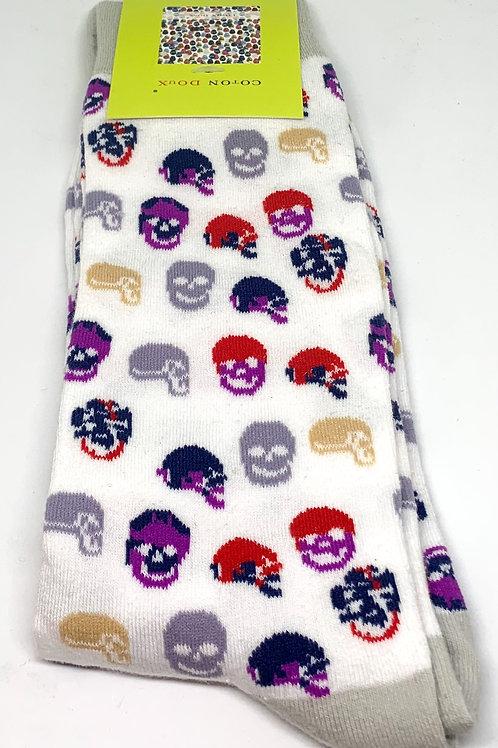 Coton Doux Socks 'Profile in Death'