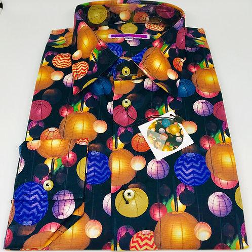 Coton Doux Mens Shirt 'Lampion'