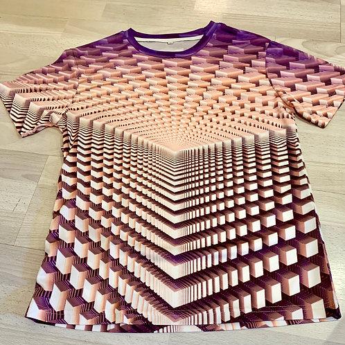 3D T-Shirt 'Cubical'