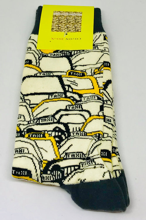 Coton Doux Socks 'Taxi'