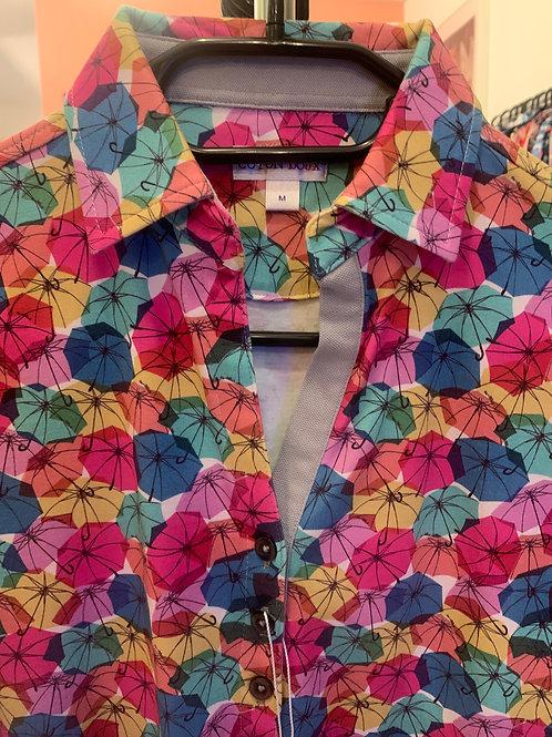 Coton Doux Polo Womens 'Umbrellas of Cherbourg'
