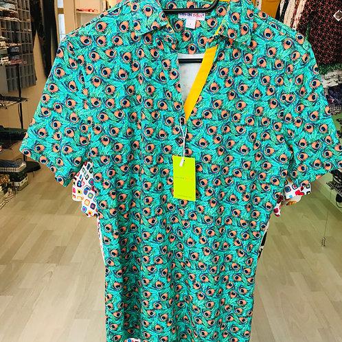 Coton Doux Womens Polo 'Peacock'
