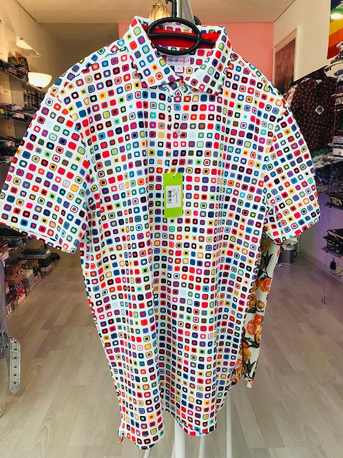 Coton Doux Mens Polo 'Candy Square'