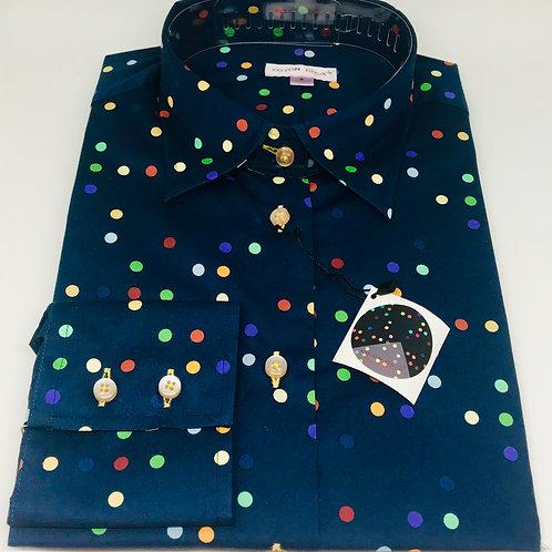 Coton Doux Womens 'Dots on Blue'