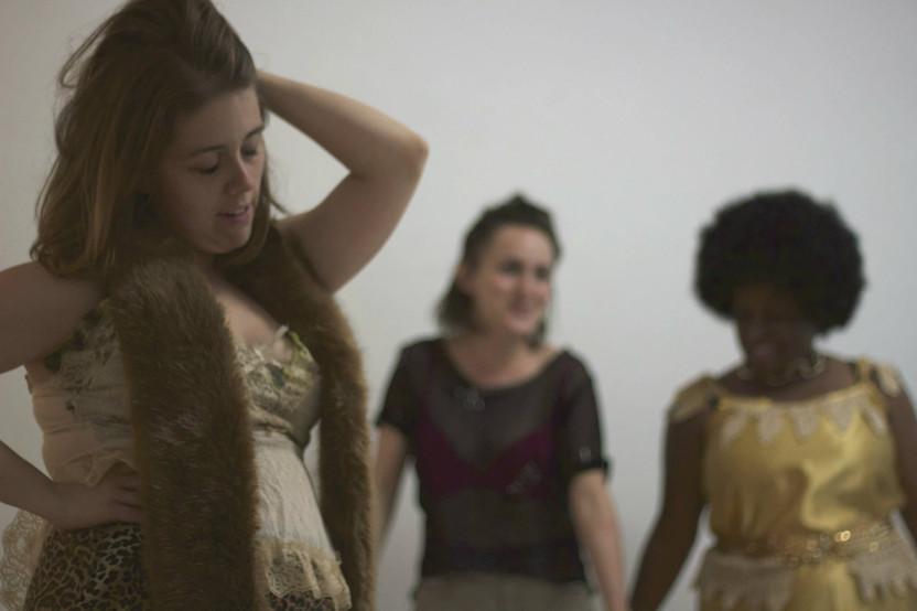"Felicity Adams-Hannigan as Kourtney in ""Kill Sister, Kill! A Musical"". Photo by Emily Dix."
