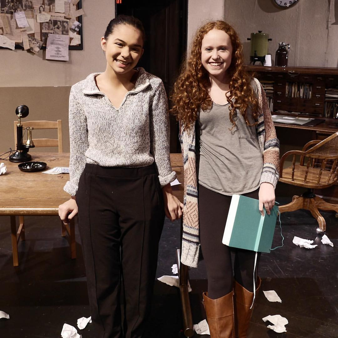 Youth Production Assistants Emily & Abby