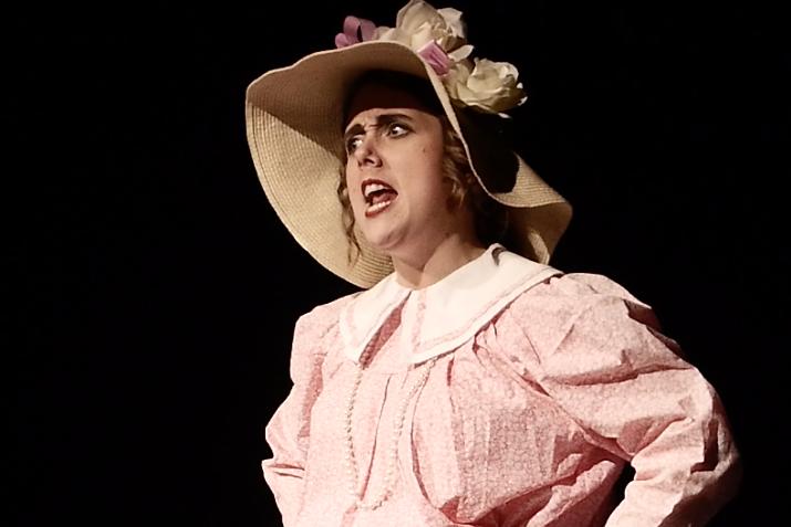 Felicity Adams-Hannigan in Bygone Theatre's Vaudeville Revue.