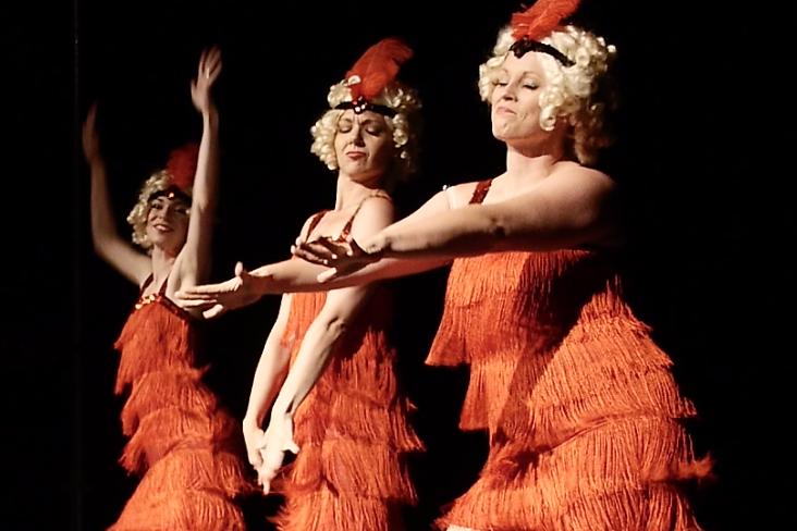 The Vintage Taps in Bygone Theatre's Vaudeville Revue.