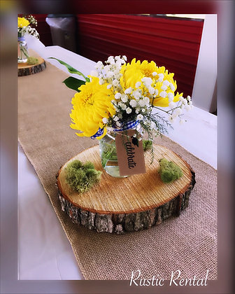Wood centerpieces (standard size)