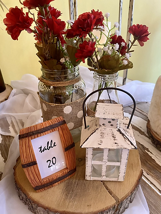 Barrel Table Numbers