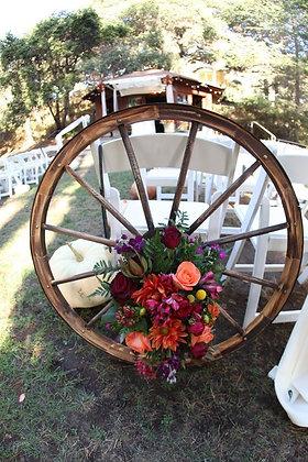 Wagon Wheels-Wood