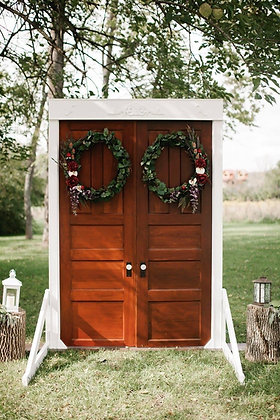Wedding Door Entry Arbor (Requires delivery and set up-additional)