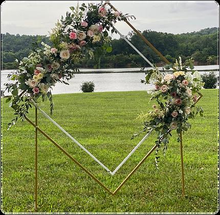 Diamond shape Arch