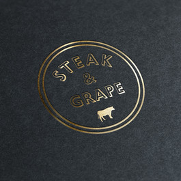 Steak & Grape logo