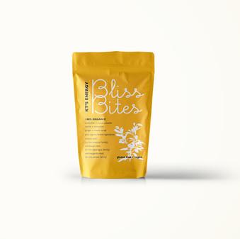 KT's Bliss Bites branding