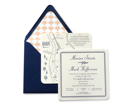 Monica & Mark's Wedding Invitation Suite