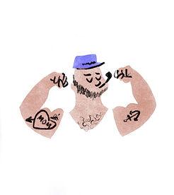 salty sailor illustration