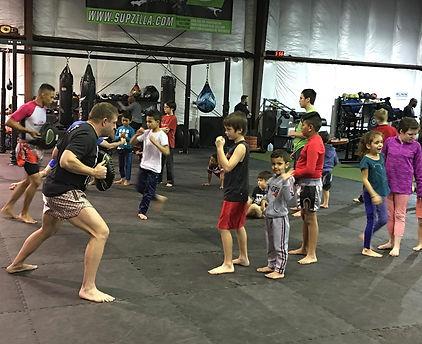 Youth Muay Thai; Ronin Training Center; Columbus, OH