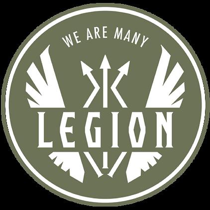 The Legion Project; The Legion Project Logo; Ronin Training Center; Columbus OH; Columbus, Ohio; Columbus