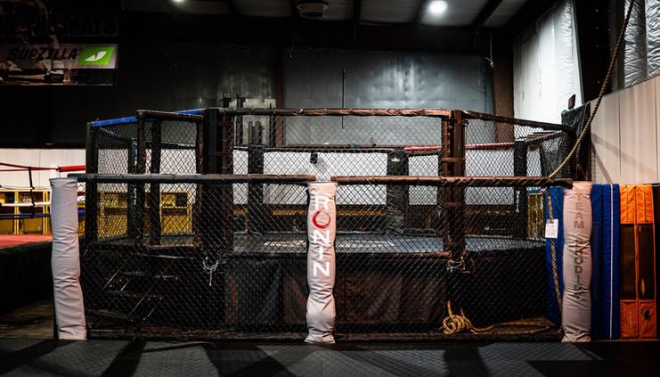 MMA Training Ring