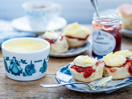 Jam First – The correct and only way to eat a Cornish Cream Tea
