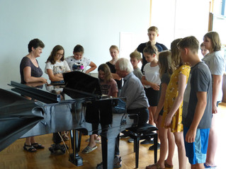 Rhythmusworkshop mit Harald Rüschenbaum