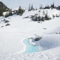 Glacial Meltwater Stream