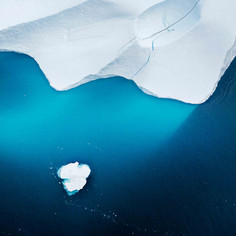 Aerial Iceberg, Greenland