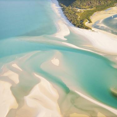 Whitehaven Beach, Whitsunday Island, Que