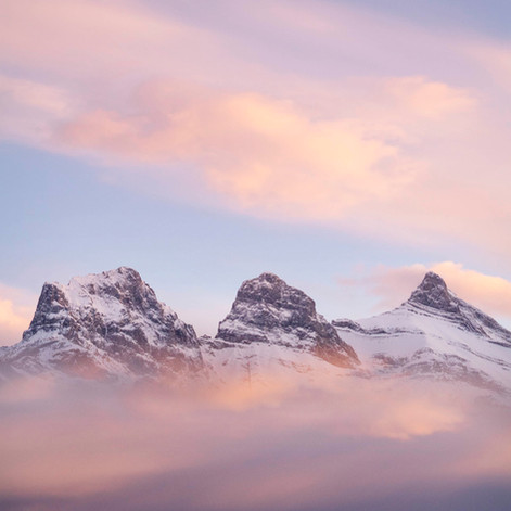 Three Sisters, Canmore, Canada