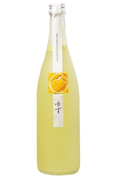 鶴梅柚子酒 720ml