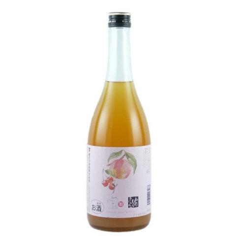 楯野川子宝桃+車厘子酒 720ml