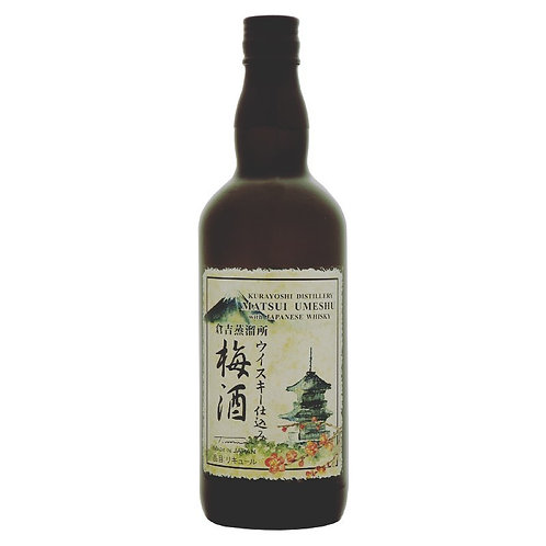 倉吉蒸餾所威士忌梅酒