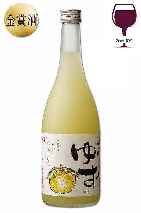 梅乃宿柚子酒 720ML
