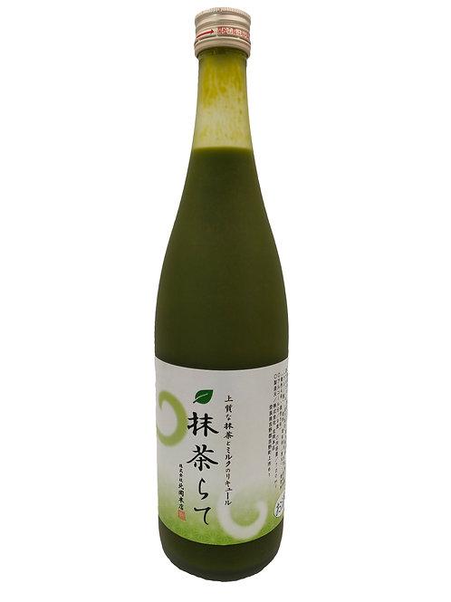 日本北岡抹茶拿鐵 Liqueur 720ml