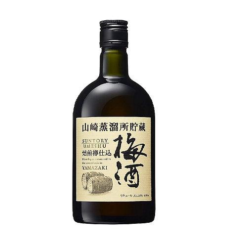 三得利山崎蒸餾所貯蔵焙煎樽仕込梅酒 660ml 12支裝