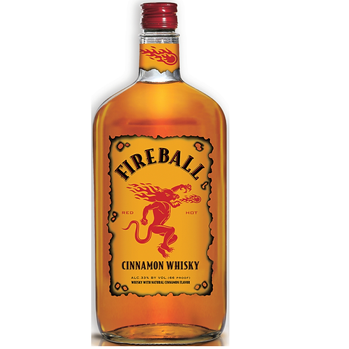 Fireball肉桂威士忌力嬌 1L
