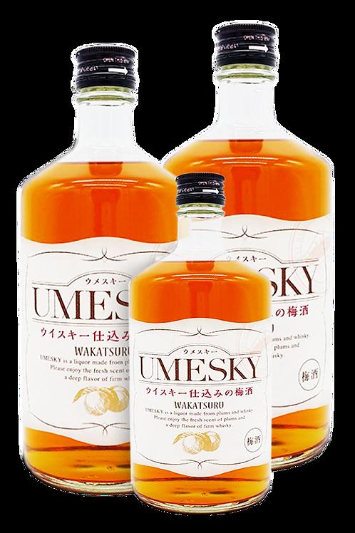 若鶴威士忌梅酒優惠裝 (2支720ML+1支300ML)