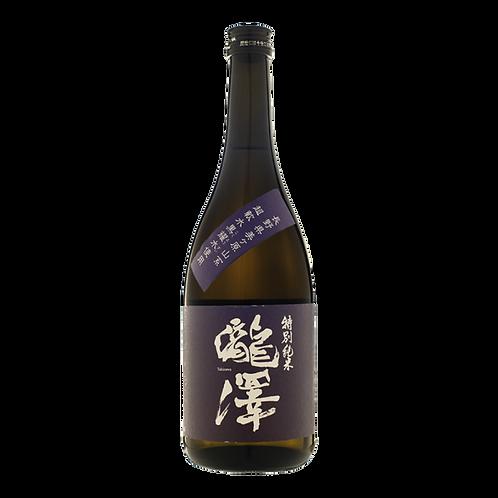瀧澤純米吟醸 - 720ml