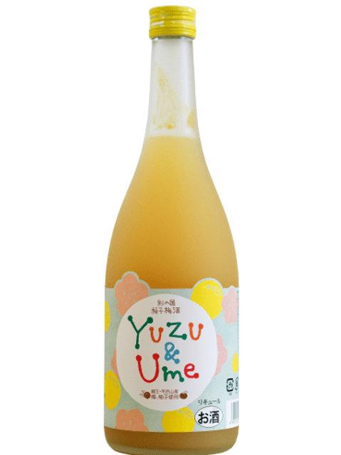 麻原酒造 彩の國 柚子梅酒 720ml