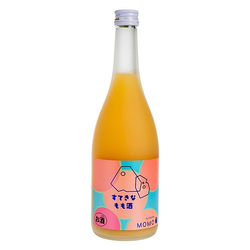 麻原酒造 桃味果酒 720ml