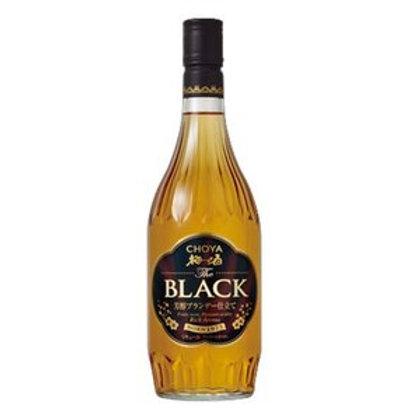 日版Choya Black 黑牌白蘭地梅酒720ml
