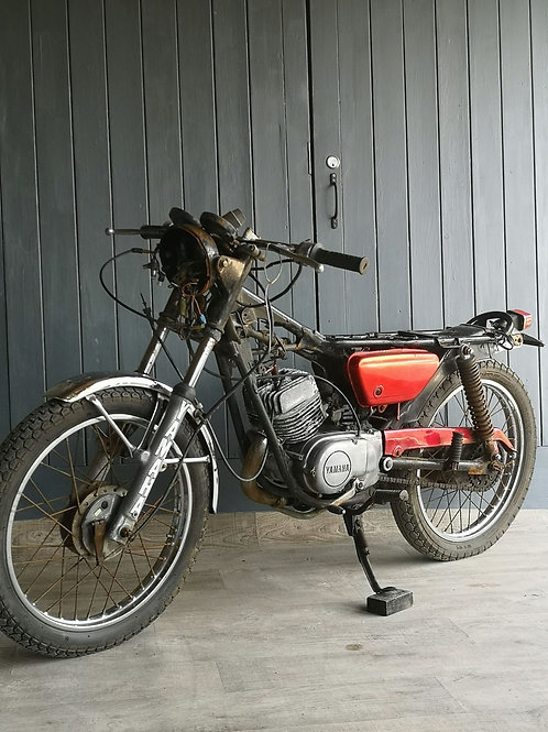 Yamaha 125 Two stroke Project 1991